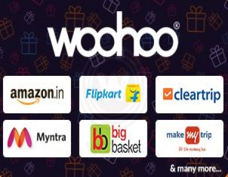 Woohoo Coupons & Offers- Get 15% OFF on BookMyShow, BigBasket, Jabong Gift Cards