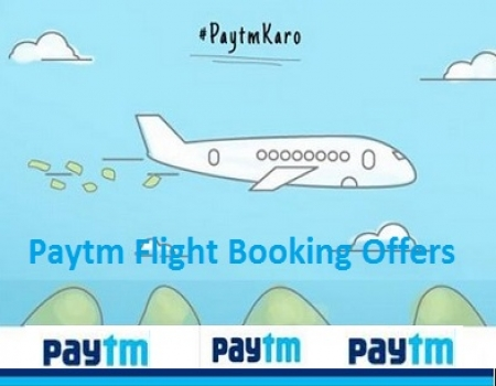 Paytm Flight Tickets Offers: Get Flat Rs 1,000 Cashback on Flight Ticket bookings only on Paytm