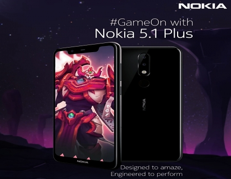 Nokia 5.1 Plus (Blue, 32 GB,3 GB RAM) Big Billion Day Sale Flipkart Price at Rs 7,999