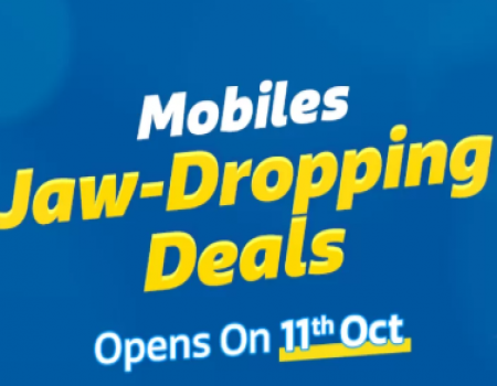 Flipkart Mobile Deals Offer: Get Upto 80% OFF on Mobiles +10% Discount on HDFC Bank Card Offers