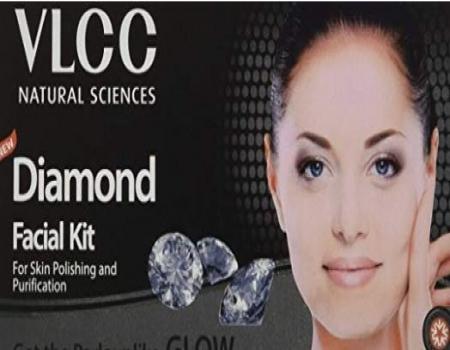 Buy VLCC Diamond Facial Kit, 50g at Rs 99 from Amazon