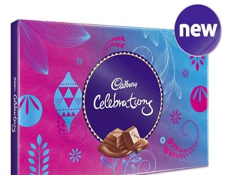 Buy Cadbury Celebrations Assorted Chocolate Gift Pack, 139g (Pack of 4) from Amazon at Rs 315 Only