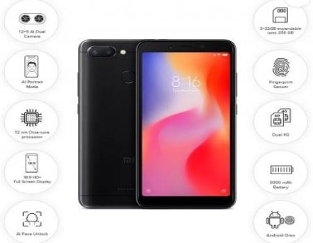 Xiaomi Redmi 6 Flipkart Price @Rs 7,999, Buy Now Specifications & Buy Online In India