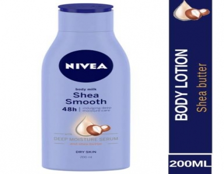 Buy Nivea Smooth Milk For Dry Skin Body Lotion 200ml at Rs 169 from Amazon
