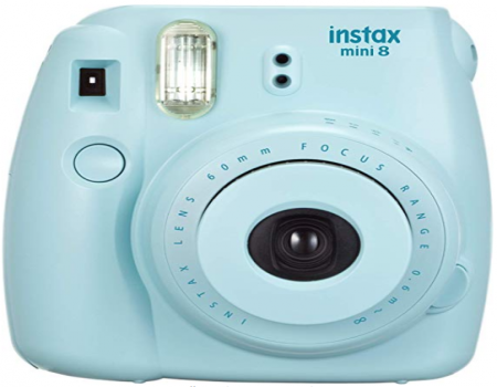 Buy Fujifilm Instax Mini 8 Instant Camera (Grape) from Flipkart just at Rs 2799 only