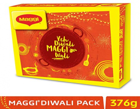 Buy Maggi Diwali Festive Gift Pack, 376g At Rs 50 Only from Amazon