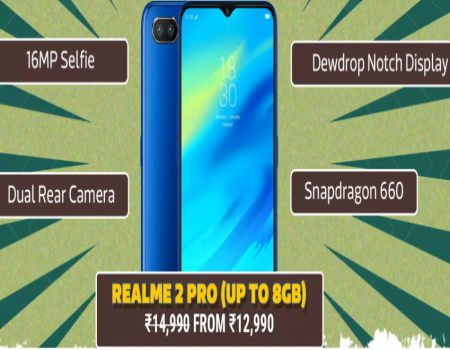 Realme 2 Pro Price at rs 11,990, Realme 2 Pro Specifications, Open Sale, Price Buy Online on Flipkart