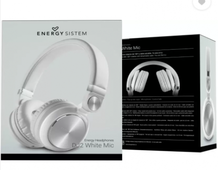 Buy Energy Sistem DJ2 Wired Headset with Mic at Rs 799 from Flipkart