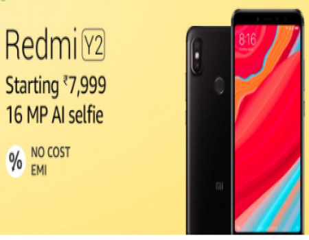 Buy Redmi Y2 (Gold, 3GB RAM, 32GB Storage) Great Indian Sale Amazon Price at Rs 7,999