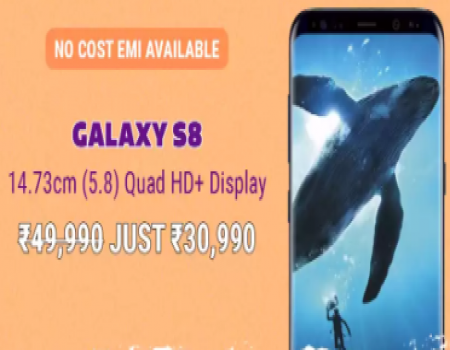 Samsung Galaxy S8 Flipkart Republic Day Sale Price @Rs 30,990- Launch Date, Specifications & Buy Online