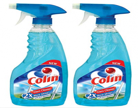 Buy Colin Glass Cleaner Pump - 500 ml (Pack of 2) at Rs 135 from Amazon