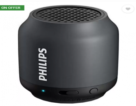 Buy Philips BT50A/00 Portable Bluetooth Speaker at Rs 999 from Flipkart