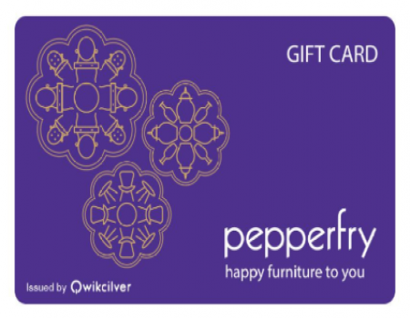 Buy Pepperfry EGift Card From Amazon at 25% Discount