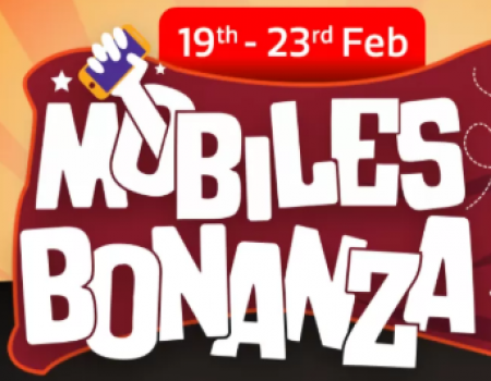Flipkart Mobile Bonaza Offer: Get Upto 80% OFF on Mobiles, Extra 10% Instant Discount* Via Axis Bank cards