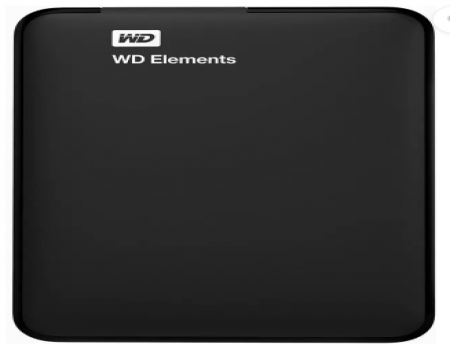 Buy WD 1.5 TB Wired External Hard Disk Drive (Black) at Rs 3,699 From Flipkart