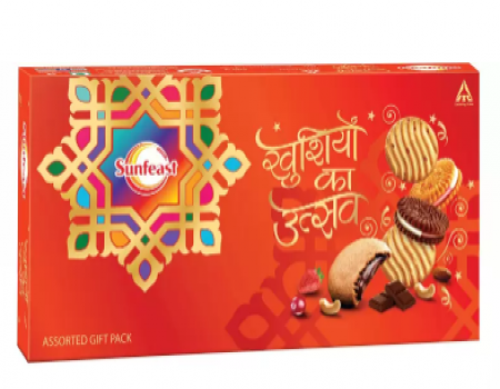 Buy Sunfeast Assorted Gift Pack (500 g) At Rs 90 Only From Flipkart