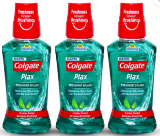 Buy Colgate Plax Mouthwash - Mint just at Rs 168 only from Flipkart