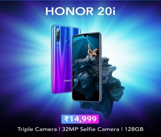 Honor 20i (128 GB, 4 GB RAM) at Rs 12,999 Specification, Buy Online Flipkart, Amazon