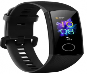 Buy Honor Band 5  (Black Strap, Size: Regular) at Rs 2,299 only from Flipkart