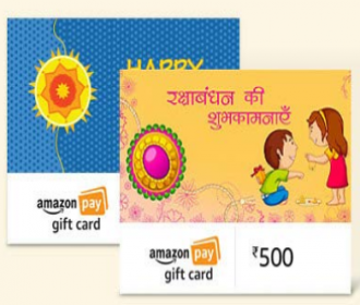 Amazon Email Gift Cards Offer: Get Flat 5% Cashback Upto Rs 50 on Sending Amazon Pay Email Gift ...