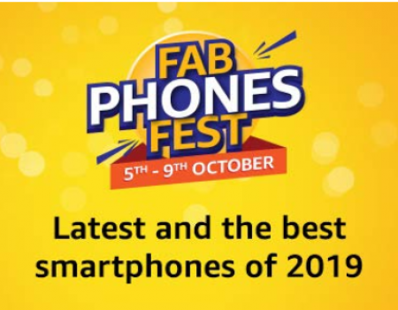 Amazon Fab Phones Fest Offers: Get Upto 40% OFF on Mobiles, Extra Upto Rs 750 OFF On Mobiles Via HDFC Bank Cards [27th To 30th Aug 2019]