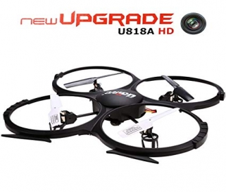 Buy Udi RC U818A 2.4GHz Rc Drone with HD Camera (720P) - 4Ch (6 Axis) at Rs 3499 from Flipkart