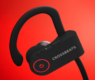 Buy CrossBeats Raga Wireless Bluetooth Earphones with Microphone at Rs 1,999 from Amazon
