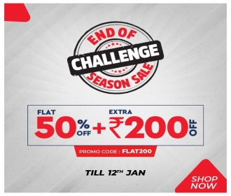 Brand Factory Season Sale Offers: Flat 50% OFF + Extra Rs 200 OFF On Fashion Shopping at Brand Factory [Till 12th Jan 2020]