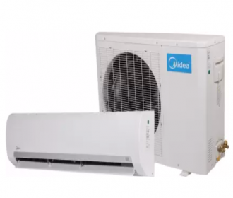 Buy Midea 1.5 Ton 3 Star Split AC - White Fixed Speed R32 ODU(MF004), Copper Condenser) just at Rs 26,999 from Flipkart, Extra 10% Bank Discount