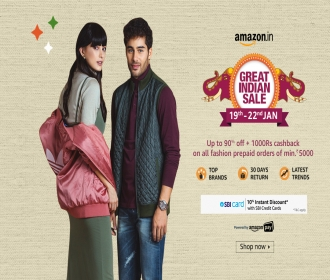Amazon Clothing Offer: Get Upto 60% to 80% OFF on Top Branded Clothings only from Amazon, Extra 10% Instant discount + 15% Amazon Cashback*