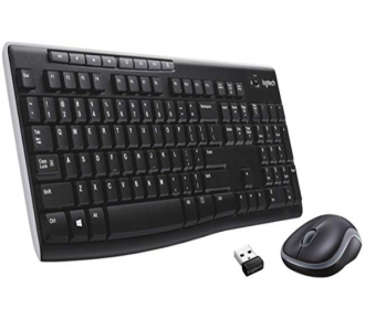 Buy Logitech Wireless mk270r Keyboard and Mouse Set at Rs 1,499 from Amazon