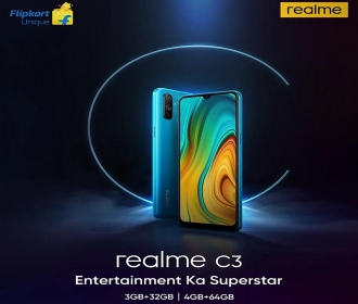 Realme C3 Flipkart Price @ Rs 6999, Launch Date in India 6th January, Next Sale Date, Specifications, Buy Online in India, Bank Offers