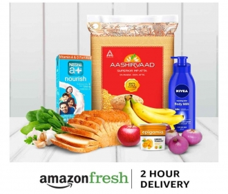 Amazon fresh Coupons Offers: Get Flat 40% OFF On fruits & vegetables, Extra Rs 150 Cashback on Shopping worth Rs 1000 or more