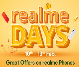 Flipkart Realme Days Sale Offers: Get Upto Rs 6000 OFF On Realme Smartphones