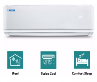 Buy Blue Star 1 Ton 3 Star Split AC White (FS312AATU, Copper Condenser) from Flipkart at Rs 27,999 Only, Extra 10% Instant Discount on ICICI Bank Card