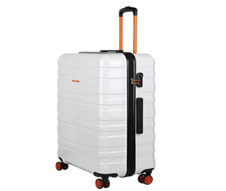Buy United Colors of Benetton Polycarbonate 76.5 cms White Hardsided Check-in Luggage at 70% OFF at Rs 3699 from Amazon