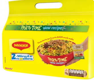 Buy Maggi Masala Instant Noodles Vegetarian (560 g) at Rs 77 Only from Flipkart