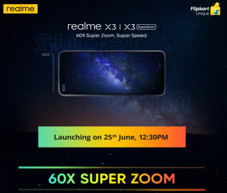 Realme X3 SuperZoom Flipkart Price: Launch Date on 25th June 2020, Specifications, Buy Online In India
