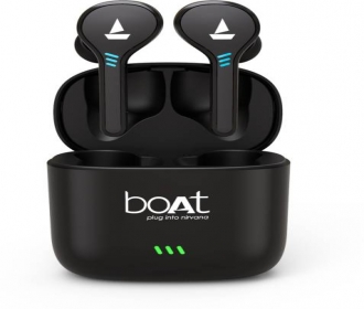 Buy boAt Airdopes 402 Bluetooth Headset (Active Black, True Wireless) at Rs 1799 from Flipkart