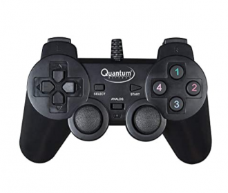 Quantum QHM7468 USB Gamepad with Dual Vibration at Rs 299 from Amazon