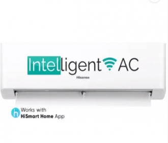 Buy Hisense 1.5 Ton 3 Star Split Inverter Wi-fi Connect AC at Rs 26,990 from Flipkart