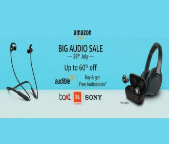 Amazon Big Audio Sale Offers Upto 60% on Headphones & Speakers, Extra Bank Discount [28th July]