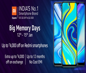 Amazon Big Memory Days: Upto 40% OFF On Redmi Smartphones, Extra Exchange and Bank Discount Offers