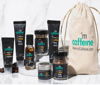 MCaffeine Discount COupons, Promo Codes & Offers- Get Free Products worth Rs 300 on orders of Rs 499 + free Shipping