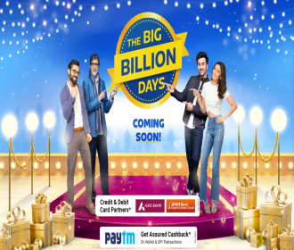 Flipkart Big Billion Days Sale Offers October 2021: Upto 90% OFF Mobile, Electronics, Clothing Deals + Extra 10% SBI Bank Discount
