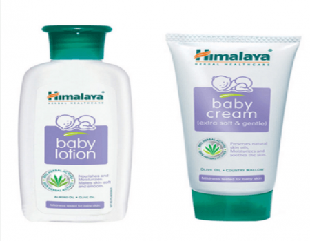 Buy Himalaya Super Saver Combo of Baby Body Lotion and Cream at Rs 101 Only