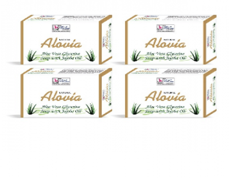 Buy Besure Aloe Vera Soap - Pack Of 4 at Rs 69 Only