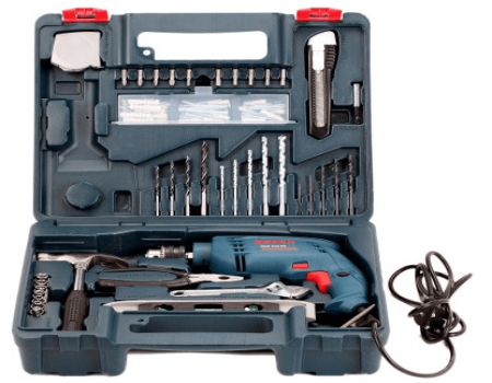 Buy Bosch GSB 500 RE Kit Power & Hand Tool Kit at Rs 3,600 Only