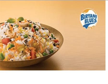 Biryani Offers: Get 50% Cashback on Biryani Blues with Mobikwik wallet