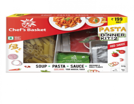Buy Chef's Basket Red Sauce Pasta and Soup Dinner Kit At Rs 179 Only